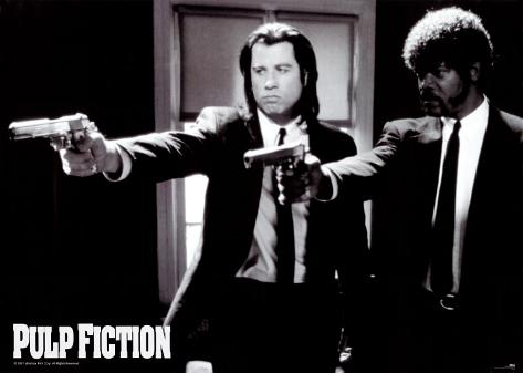 Pulp Fiction Poster gigante