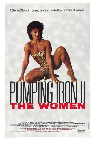 Pumping Iron ll: The Women Pôster