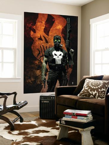 Punisher No.57 Cover: Punisher Giant Art Print