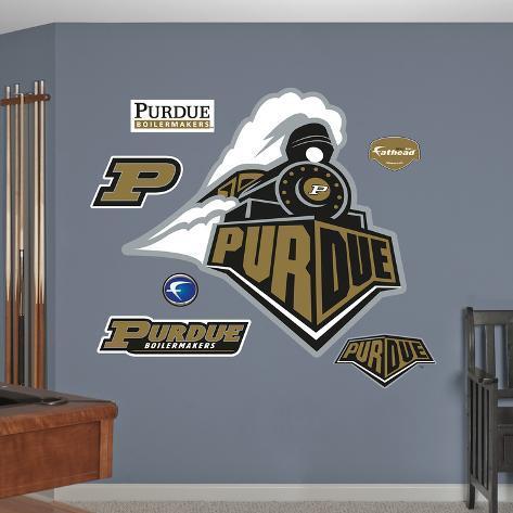 Purdue 2010 Logo Wall Decal