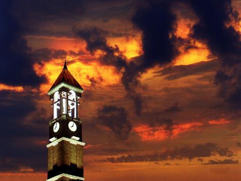 Purdue University - Bell Tower Photo