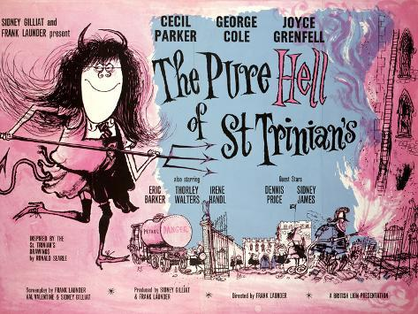 Pure Hell of St Trinian's (The) Art Print