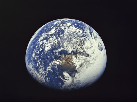 North America, Mexico and Cuba Apollo 16 1972 Photographic Print