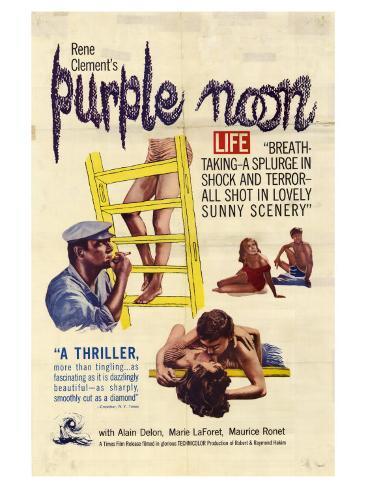 Purple Noon, 1964 Art Print