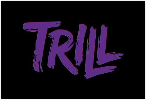 オールポスターズの purple trill アートポスター