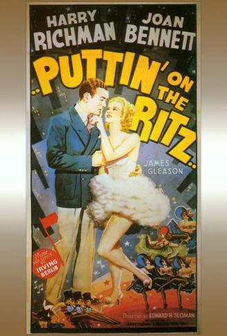 Puttin' on the Ritz Poster