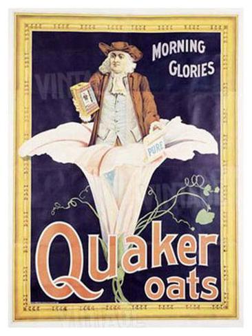 Quaker Oats Giclee Print