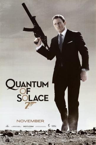 Quantum of Solace Pôster