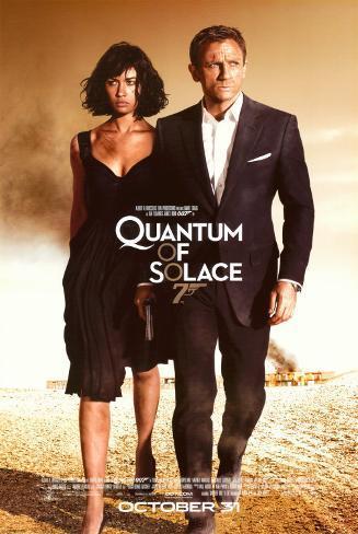 Quantum of Solace Pôster