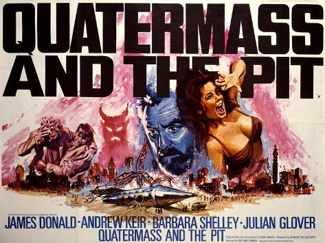 Quatermass and the Pit Art Print