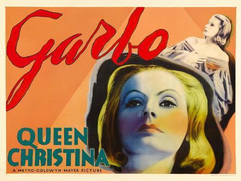 Queen Christina, Greta Garbo, 1933 アートプリント