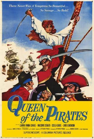 Queen of the Pirates Poster