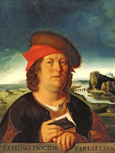 Portrait Presumed to be Paracelsus (1493-1541) Giclee Print