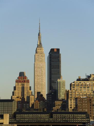 Empire State Building, Mid Town Manhattan, New York City, New York, USA Photographic Print