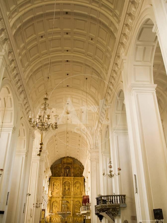 Se Cathedral, Thought to be Asia\'s Biggest Church, Unesco World ...