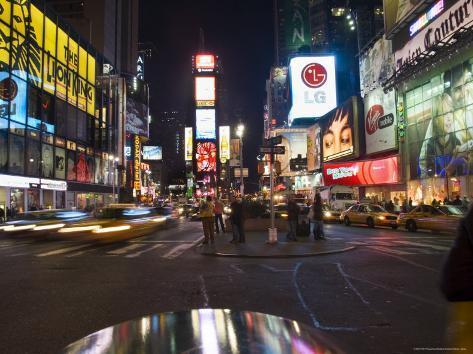 Times Square, Manhattan, New York City, New York, USA Photographic Print