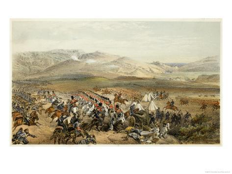 The Charge of the Heavy Cavalry Giclee Print