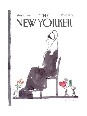 The New Yorker Cover - May 14, 1990 Premium Giclee Print