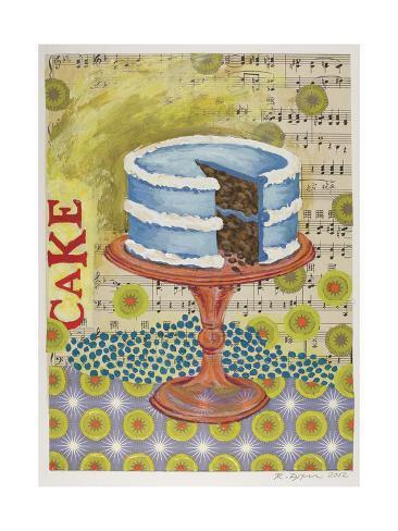 Birthday Cake Giclée-vedos
