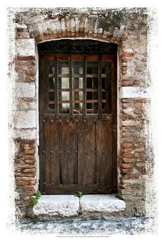 Doors of europe iv print by rachel perry for Rachel s fairy doors