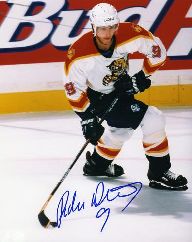 Radek Dvorak Florida Panthers Autographed Photo (Hand Signed Collectable) Photo