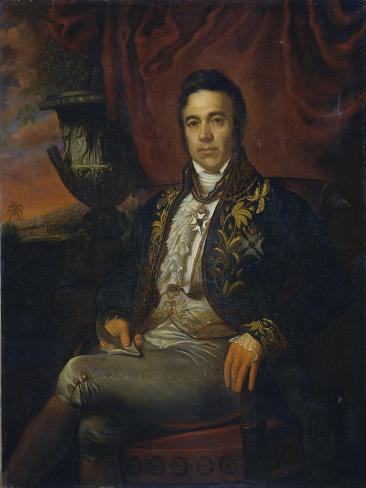 Portrait of Jean Chretien Baud, Governor-General Ad Interim of the Dutch East Indies Art Print
