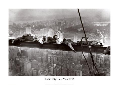 Radio City, New York, 1932 Art Print