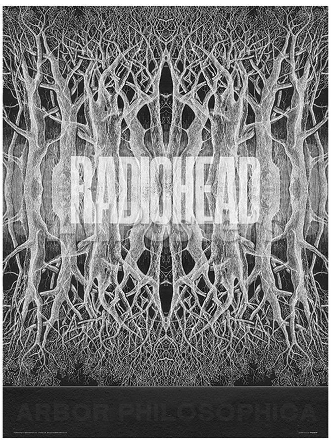 Radiohead - King Of Limbs Music Poster Lámina maestra en AllPosters.es