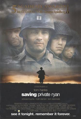"Rädda menige Ryan, ""Saving Private Ryan"" Masterprint"