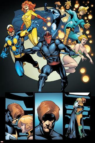 Avengers: The Initiative No.28 Group: Night Thrasher Poster