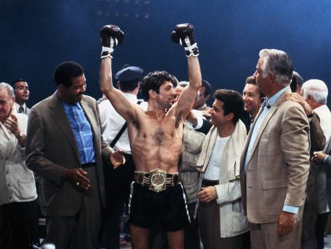 Raging Bull, Robert De Niro, Joe Pesci, Directed by Martin Scorsese, 1980 Photo