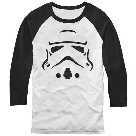Raglan: Star Wars- Storm Trooper Facade Raglans