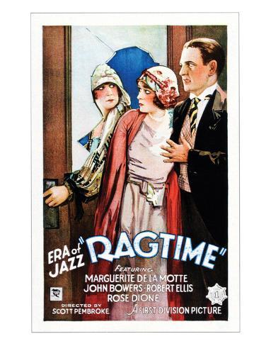 Ragtime - 1927 Impressão giclée
