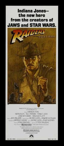 Raiders of the Lost Ark - Insert Style Poster