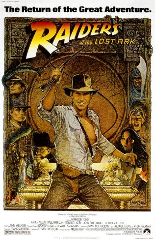Raiders of the Lost Ark Masterprint