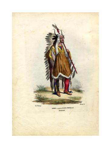 Mandani Indian, 1863-79 Stampa giclée
