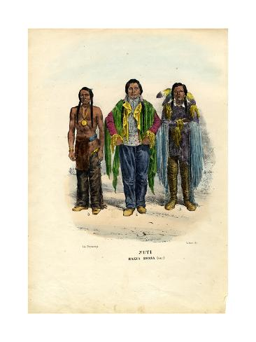 Yuti Indians, 1863-79 Stampa giclée