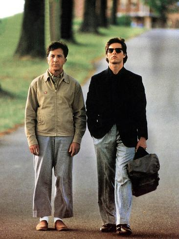 Rain Man, Tom Cruise, Dustin Hoffman, 1988 Photo