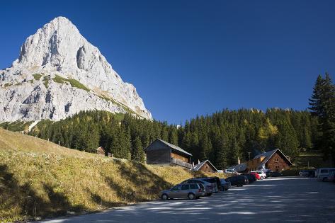 Austria, Styria, National-Park, GesŠuse, Ennstaler Alps Photographic Print