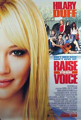 Raise Your Voice Double-sided poster