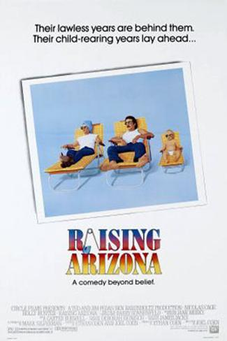 Raising Arizona Original Poster