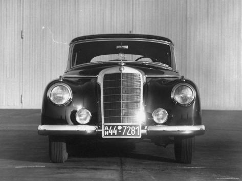 Front Shot of a German Made Mercedes Benz Automobile ...