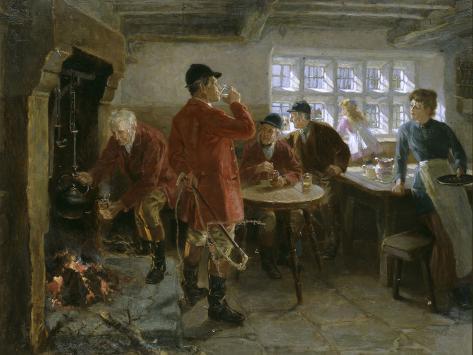 The Morning of the Hunt, 1906 Lámina giclée
