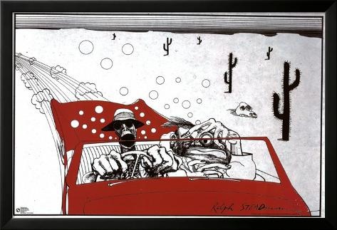 Fear And Loathing In Las Vegas Lamina Framed Poster