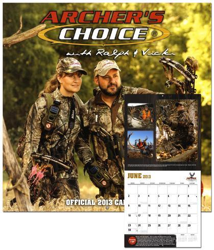 Ralph & Vicki Cianciarulo: Archers Choice - 2013 Wall Calendar Calendars