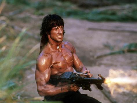 Rambo: Acorralado II Fotografía