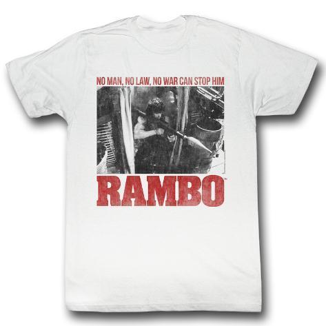 Rambo - No One T-Shirt