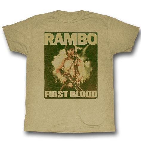 Rambo - Poster T-shirt