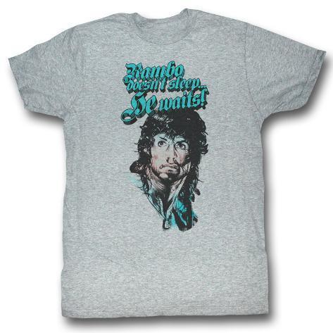 Rambo - Rain On Your Face T-Shirt