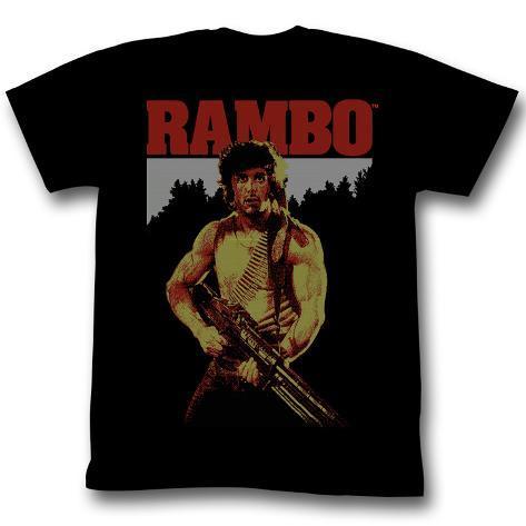 Rambo - Real Rambo T-shirt